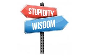 Stupidity vs Wisdom